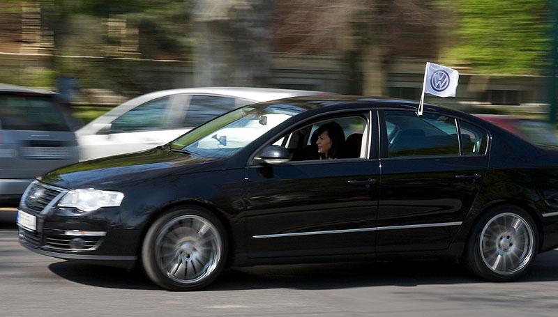 autofahne VW